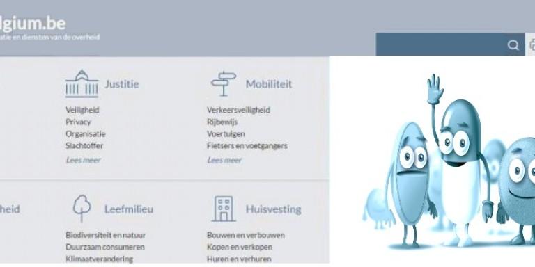 website www.belgium.be